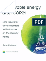 Renewable Energy After COP21