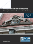 Cumberland County Forfeiture Report from Pennsylvania ACLU