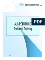 ALC PDH RADIO Technical Training Siae Mi