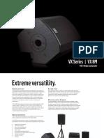 VX 8M Brochure