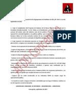 Resolución Públicas Del Encuentro de Las Agrupaciones de Familiares de DD y EP