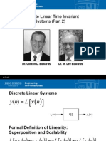 Module 2B Linear Systems