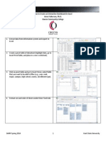 Dashboard in Excel Handout