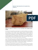 """Notas sobre la conferencia """"Aproximación a la Arquitectura Vaccea"""" de Ignacio Represa"""