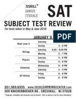 2015.12.14 Combo Subject Test & NEW SAT Flyers