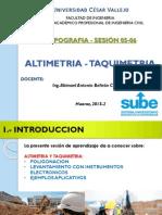 ALTIMETRIA TAQUIMETRIA TOPOGRAFIA