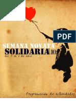 Programación Semana Novata Solidaria 2010