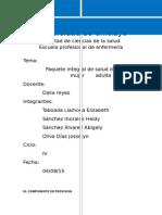 Paquete Integral de Salud