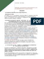 Modelos de Enseñanza Actuales de Iniciación y Reflexiones Finales