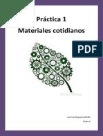 Practica 1 Materiales Cotidianos