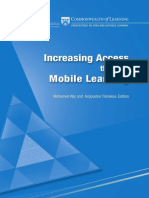 Access to Mobile Learning