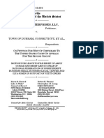Motion for Leave to File Brief of Amici Curiae and Brief Amici Curiae of National Federation of Independent Business Small Business Legal Center and Ilya Somin in Support of Petitioners, Arrigoni Ent., LLC v. Town of Durham, No. 15-631 (Dec. 14, 2015)