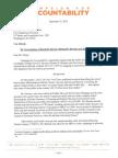 CfA Calls on DOJ to Investigate Obama Admin Officials for Potential Revolving Door Violations