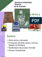 Proceso Industrial Del Acido Nitrico.