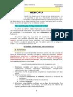 TEMA 4. Psicomotricidad y Memoria