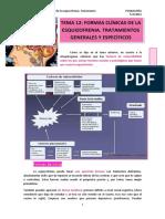 TEMA 12. Formas Clínicas de La Esquizofrenia. Tratamiento