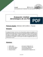 Analisis Gerontologico de Pelicula Still Alice