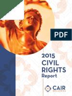 2015 CAIR-OK Civil Rights Report