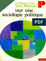 Pour Une Sociologie Politique 1_1974