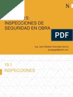 15a Inspecciones de Seguridad en Obra