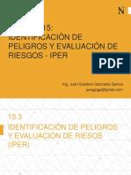 IDENTIF PELIGROS Y EVALUAC RIESGOS EN OBRA