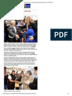 12-12-15 Gobernadora Claudia Pavlovich da bienvenida a paisanos - Canal Sonora