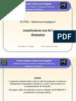 Analogica I (12) Exemplos Amplificadores 2013