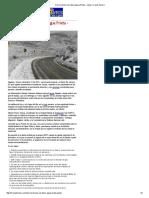 12-12-15 Cierran tramo carretera Agua Prieta – Janos - Canal Sonora