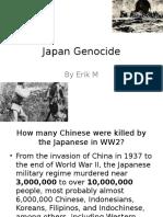 japan genocide