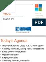 Office (Doug Rall) - 2010 Kootenai County Market Forum