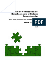 Manual de codificación del Rorschach el Sistema Comprehensivo - John Exner Jr