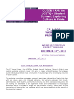 queer i am student summit workshop proposal form 2016