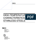 High Temperature Characteristics of StainlessSteel