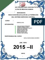 Induccion Molecular Del Snc
