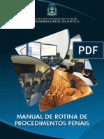 CNJ -Manual Dos Procedimentos Penais