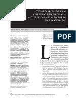 Comedores de Pan y Bebedores de Vino- La Cuestión Alimentaria en La Odisea