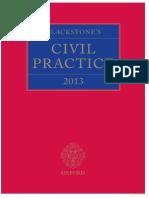 Blackstones Civil Practice