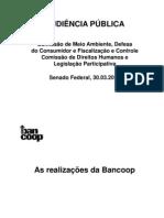 APRESENTA SENADO 2010 bancoop