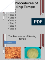 The Procedures of Making Tempe
