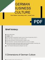 german business culture presentation