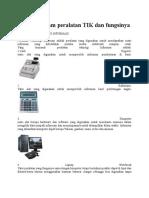 Macam-macam Teknologi Informasi