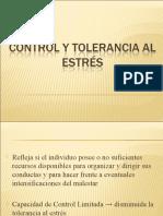 Control y Tolerancia al Estrés