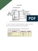 Diseño de Sedimentador