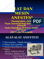 Alat Dan Mesin Anestesi