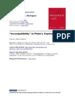 ! Pelletier - PlatoIncompatibility1975