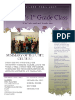polaris 1st grade newsletter