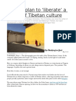 China's Plan to 'Liberate' a Cradle of Tibetan Culture