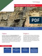 Diplomado en Geotecnia Apliacada a La Mecanica de Suelos y Geomecanica de Rocas - Copia
