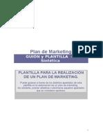 Plantilla Plan Marketing