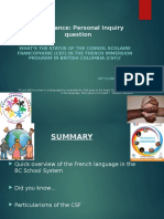 governance---the csf vs  the french immersion program  1   1